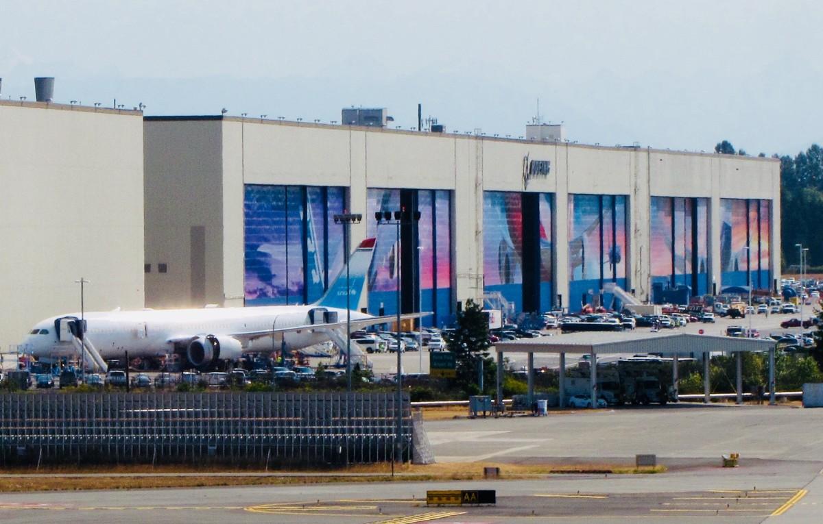 Boeing Assembly Building, Everett, Washington