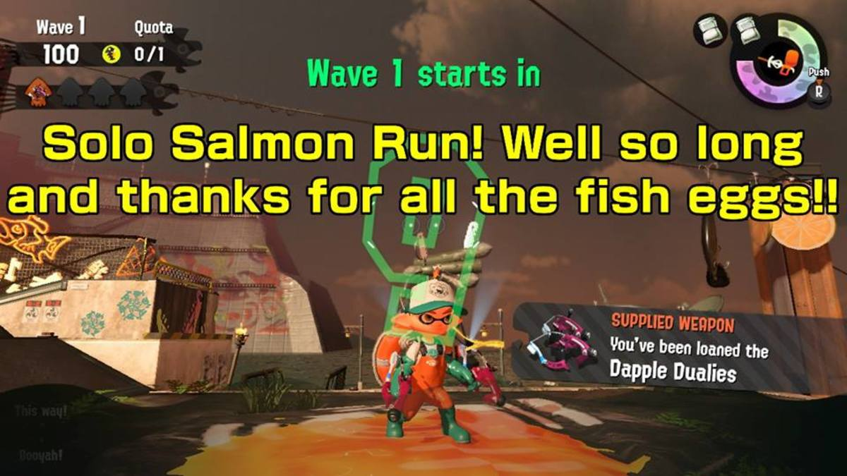Where am I supposed to be? (A Salmon Run parody)