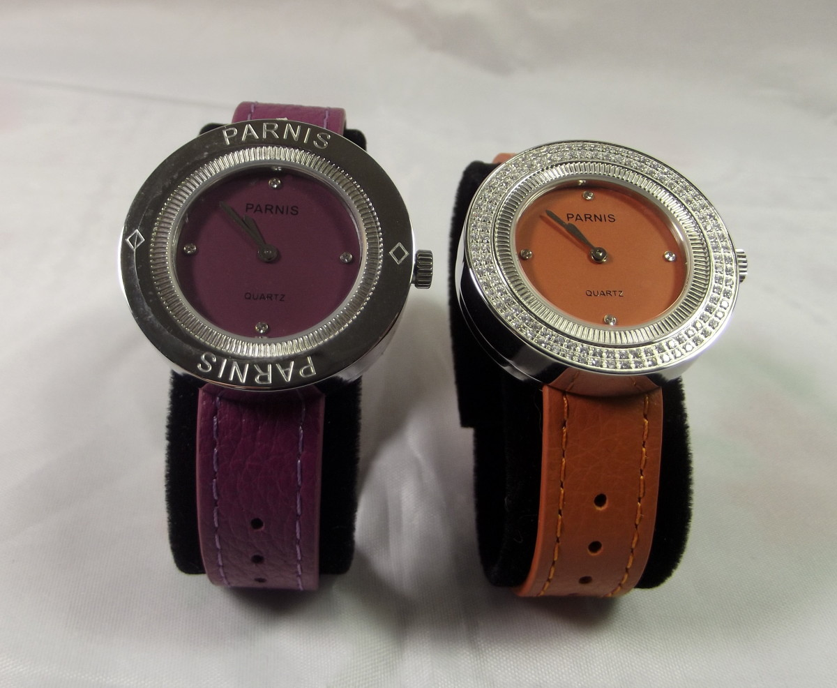Parnis 33mm quartz women's watches