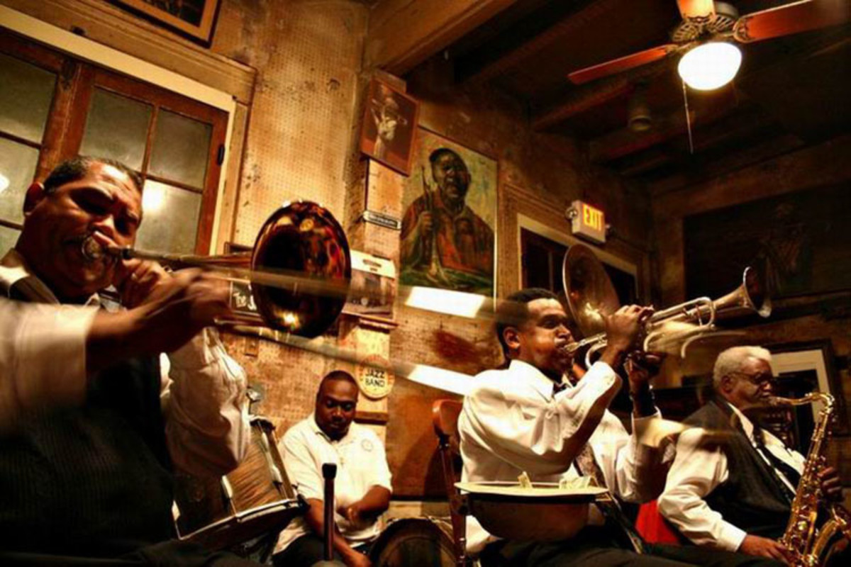 Preservation Hall in the Vieux Carre has been a popular venue for Dixieland performers for many decades