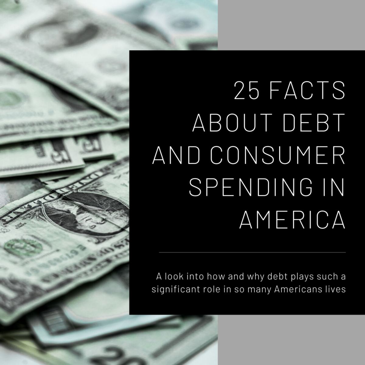 This article will take a look at 25 facts that examine the state of consumer spending and debt in the U.S.