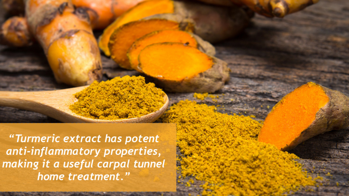 Turmeric, like ginger, also has potent anti-inflammatory properties.