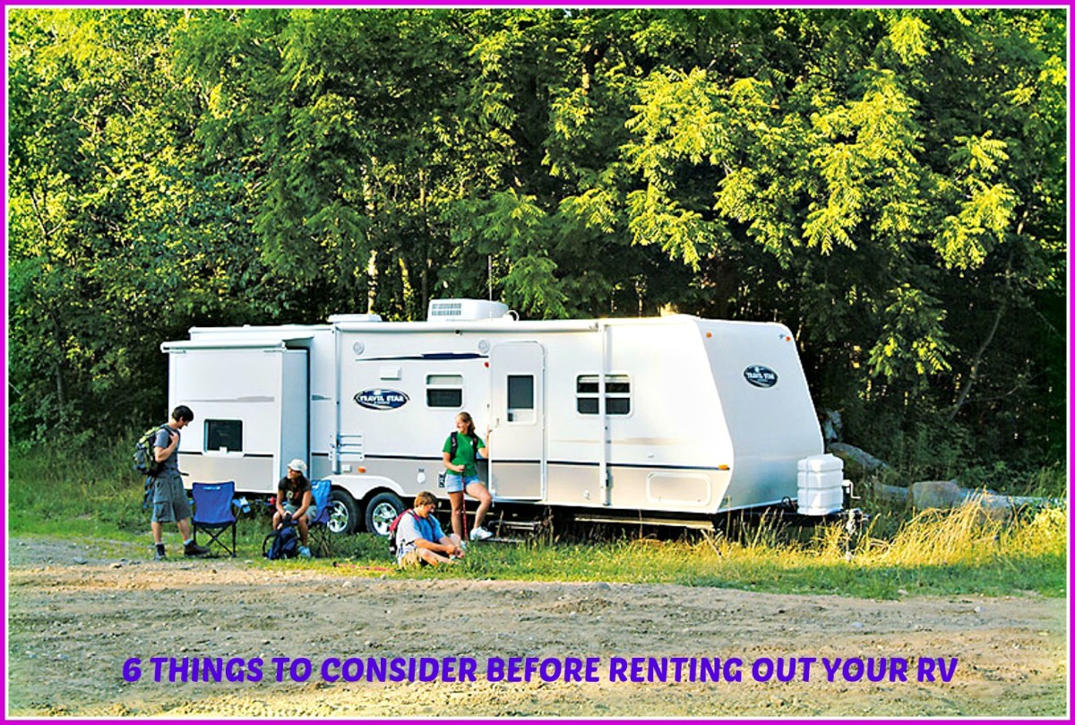 Six things you need to think about before you decide to rent out your RV.