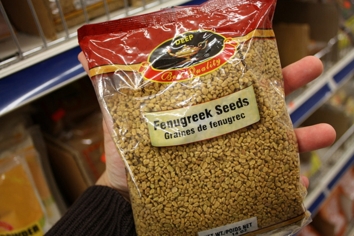 Fenugreek Seeds. Image by Leslie Seaton