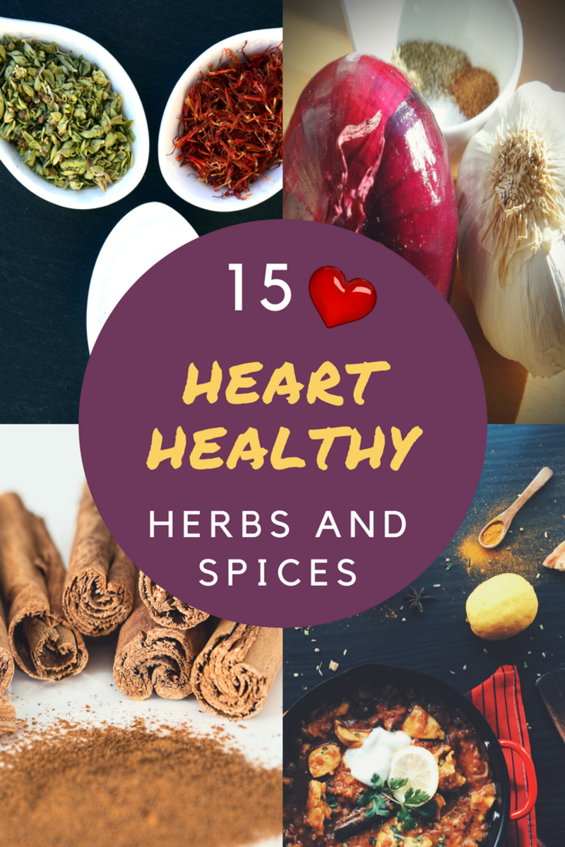 15 Heart Healthy Herbs and Spices