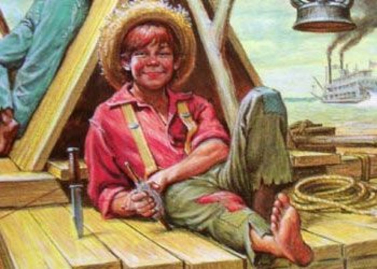 the contrast of the characters of huckleberry finn and tom sawyer in the adventures of huckleberry f Tom sawyer has been huck finn's best friend since before ''adventures of huckleberry finn'' takes place in this lesson, you'll learn more about.