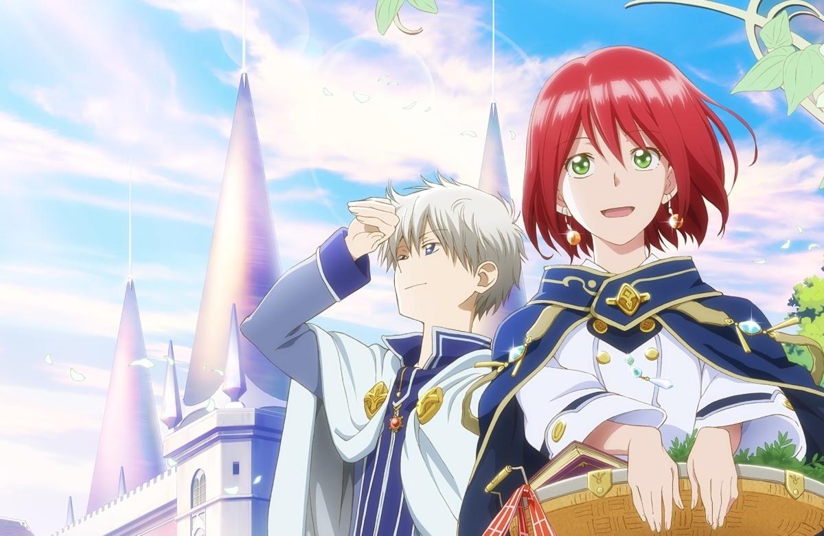5 Anime Like 'Akagami no Shirayuki-hime' ('Snow White with the Red Hair')