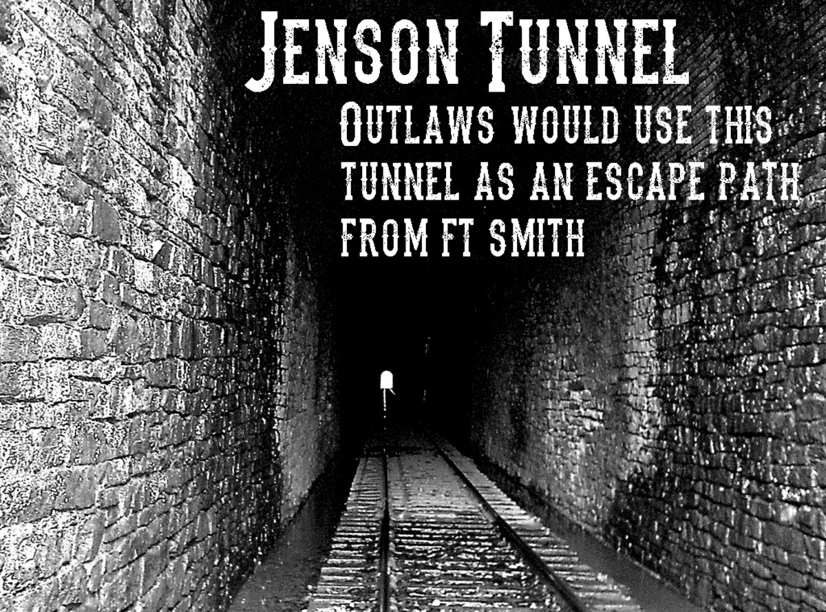 The Jenson Tunnel and the Town of Jenson