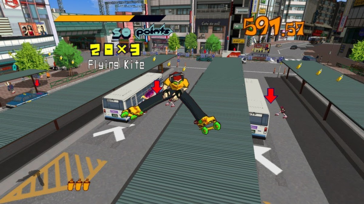 Jet Set Radio - HD remaster Publisher: Sega
