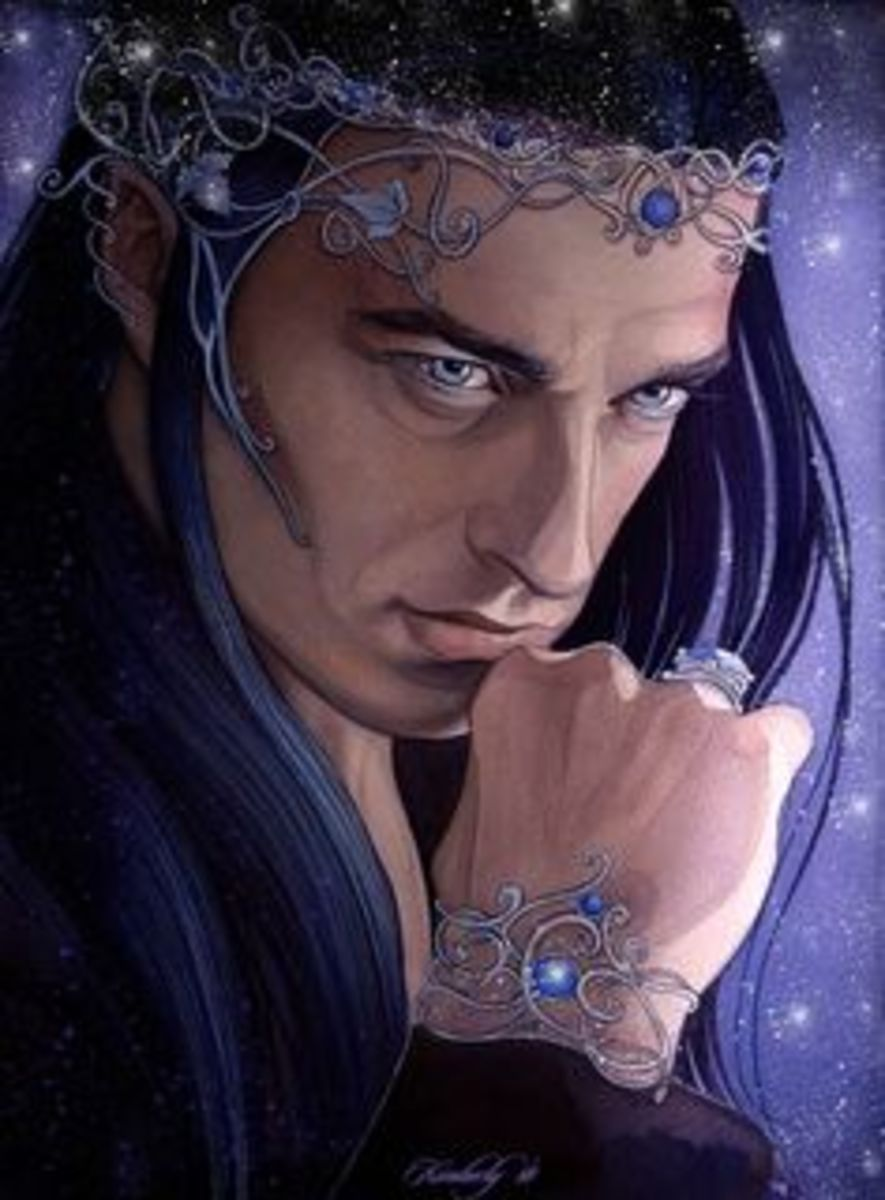 by artist: Kimberly80. Finwe is the one of the first High Kings of the elves and of the first generation of the race.