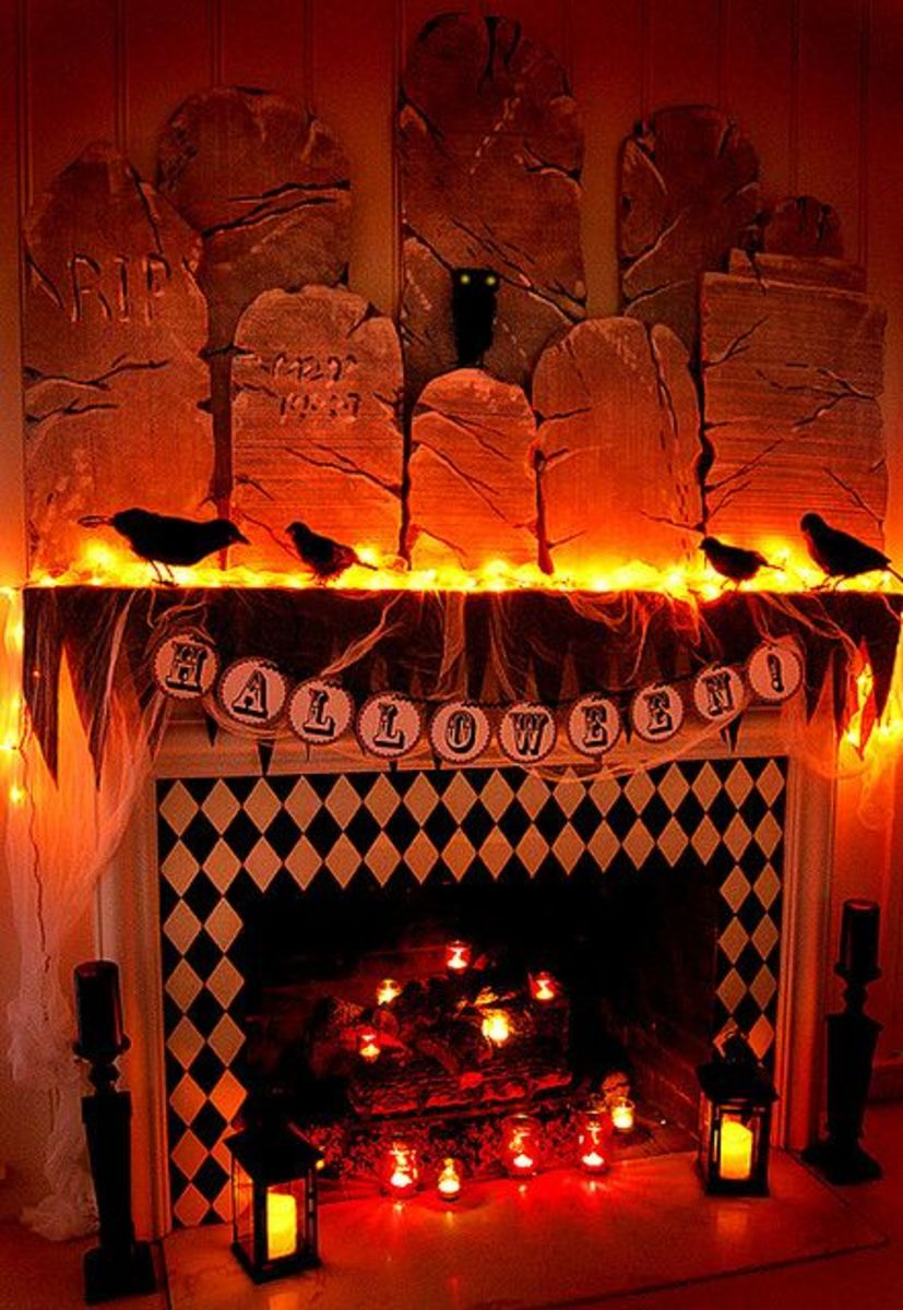 Halloween Hearth Folklore