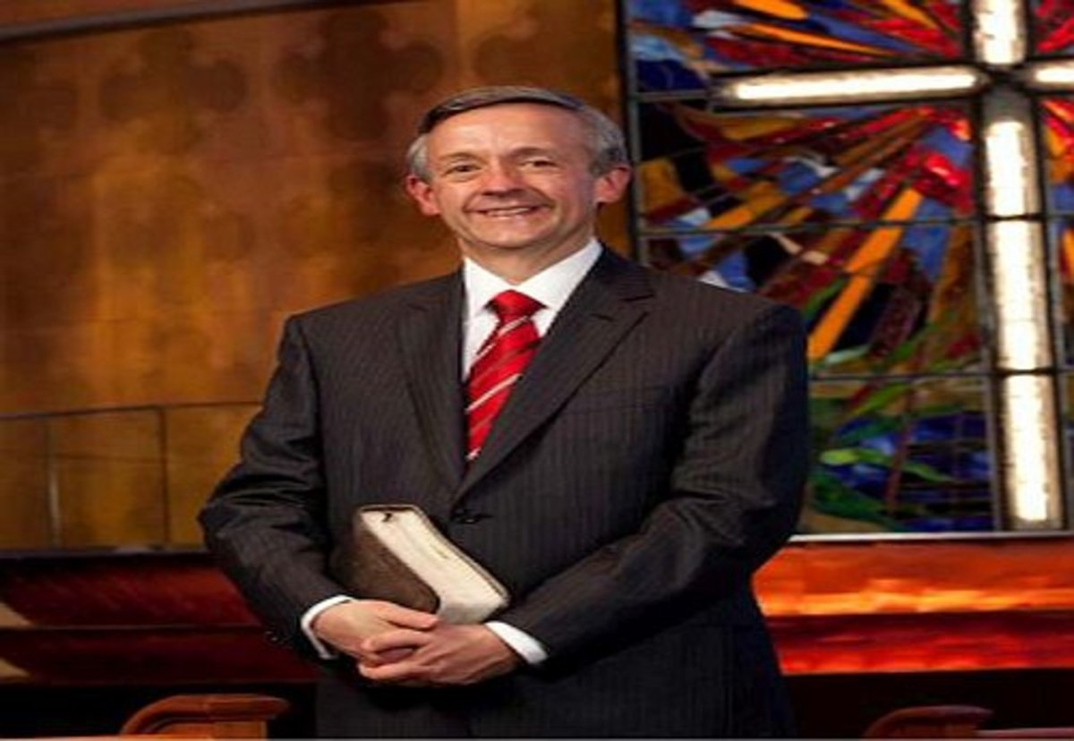 Image: Dr. Robert Jeffress, First Baptist Church, Dallas, Texas
