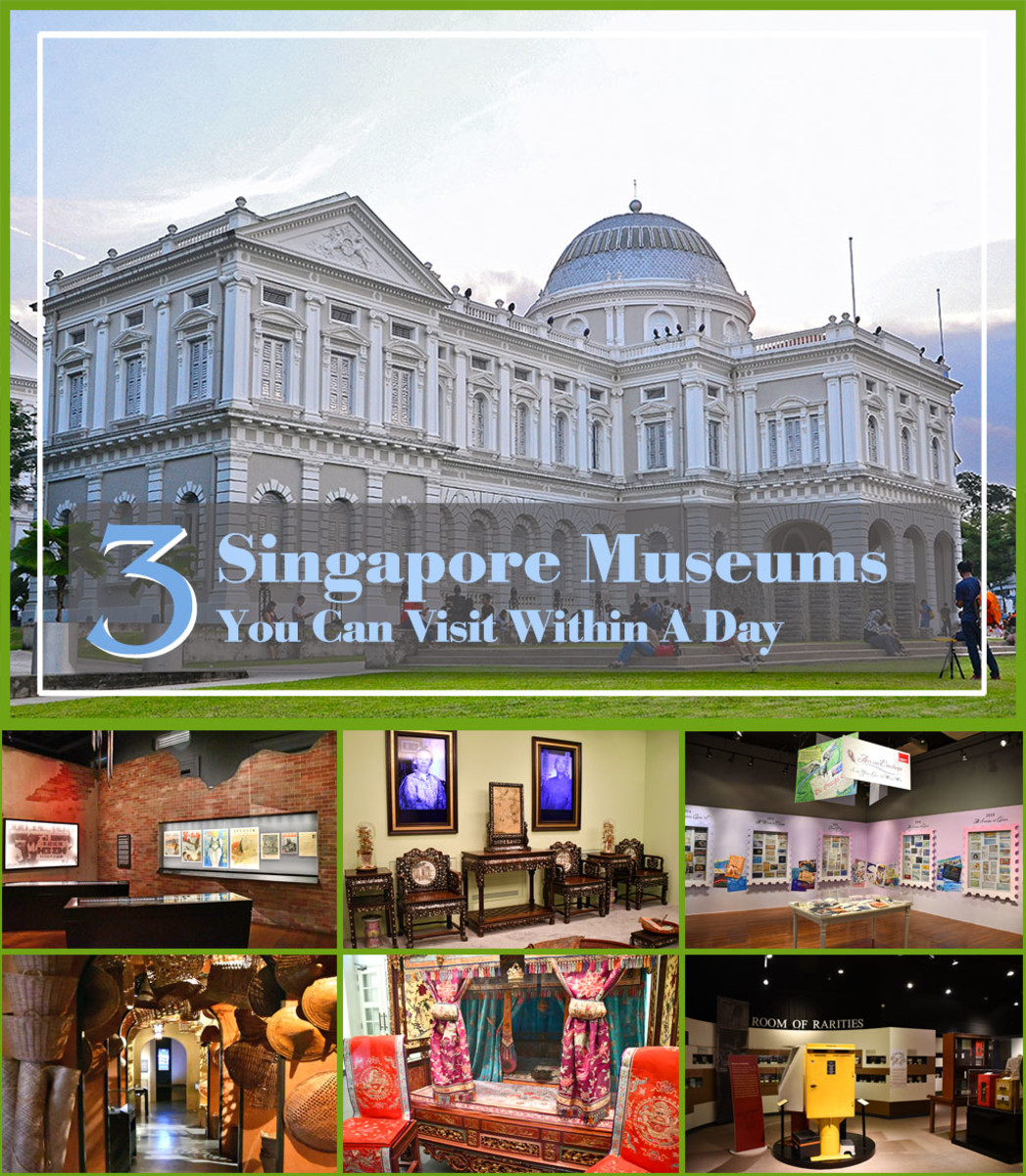 Don't miss these great Singapore museums when visiting the city state!