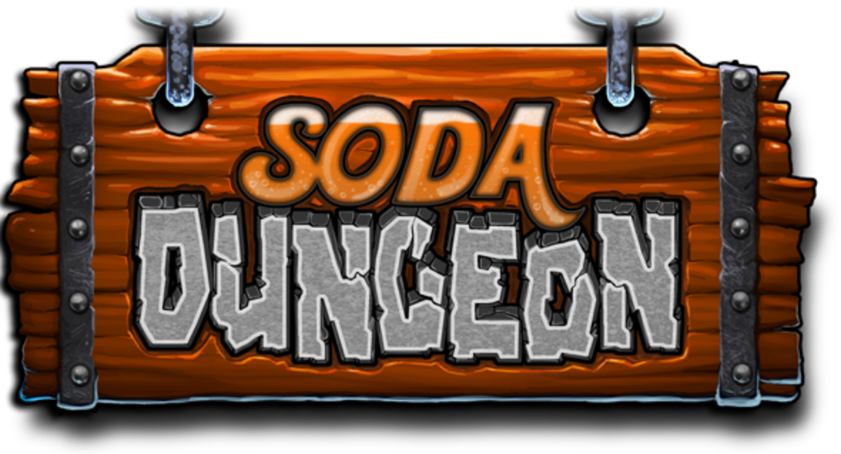 """Soda Dungeon's"" Logo"
