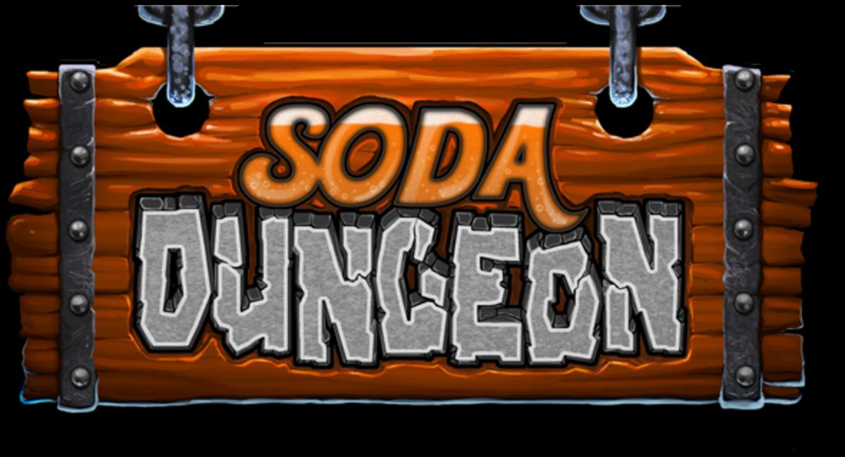 Soda Dungeon's logo