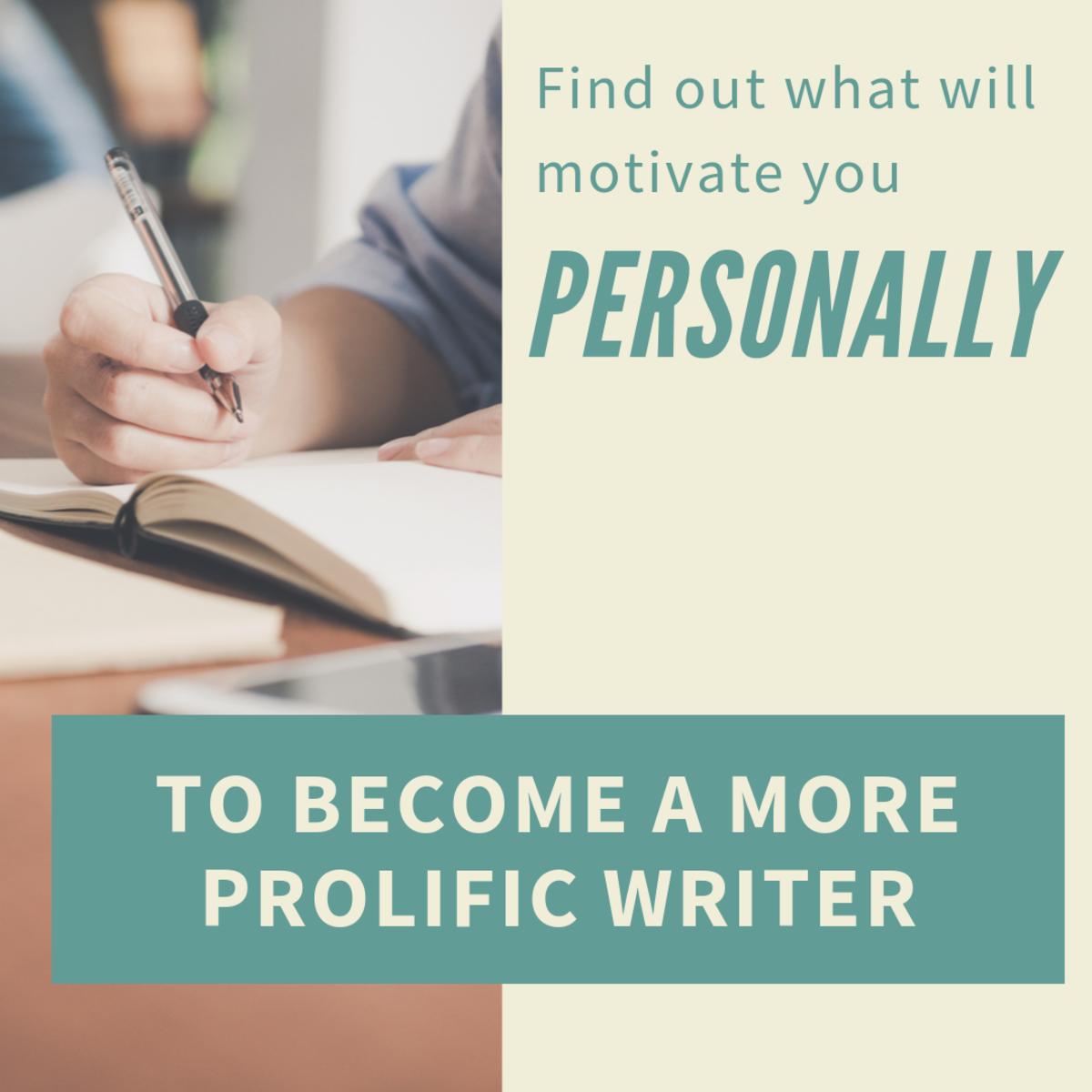 The 3-Step Customised Writing Motivation Formula