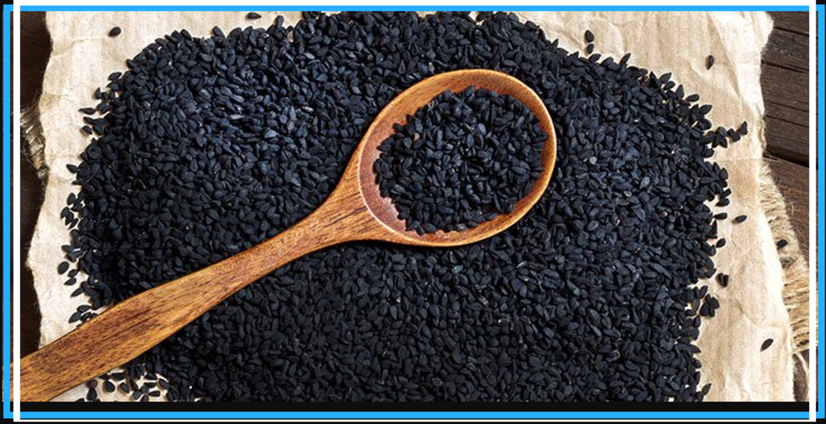 Black Cumin Oil is not related to Curcumin from Tumeric. It is a black seed that has its history rooted in both Egypt and India and is known by various names, including Nigella Sativa, Black Caraway, Nutmeg Flower, and Roman Coriander.