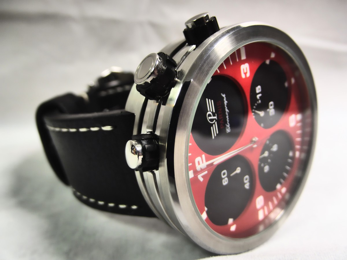 Review of the Parnis H2110 Chronograph