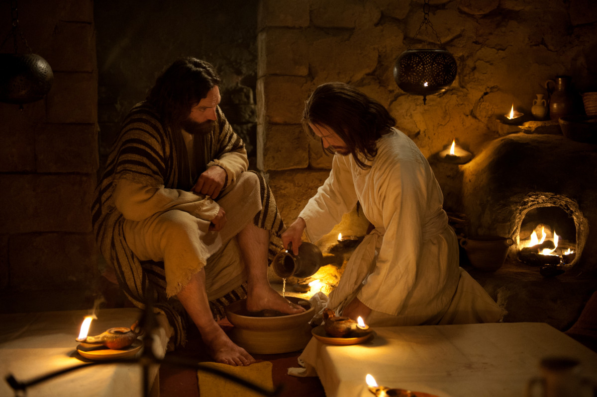 history of foot washing
