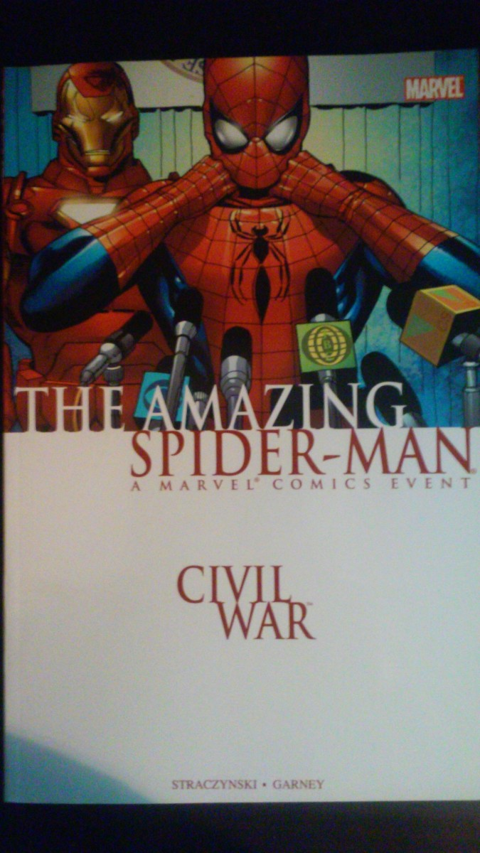 "Amazing Reviews: ""Civil War"" (Amazing Spider-Man 532-538)"