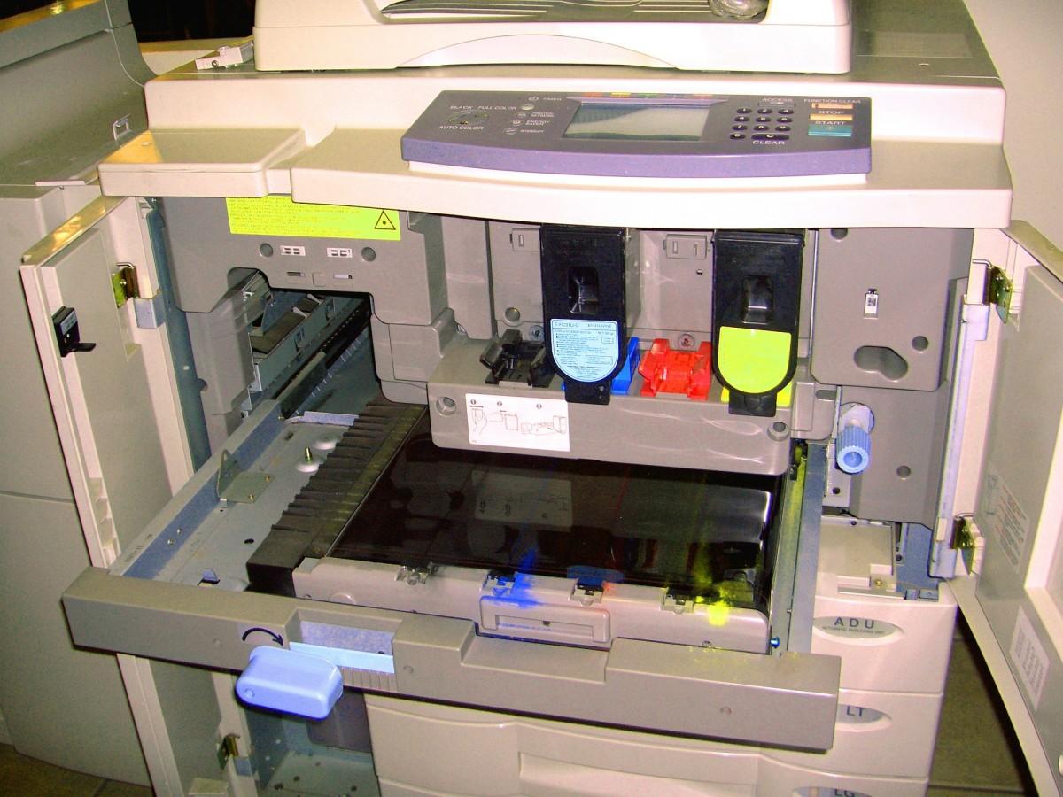 Photocopy Machine Attacking