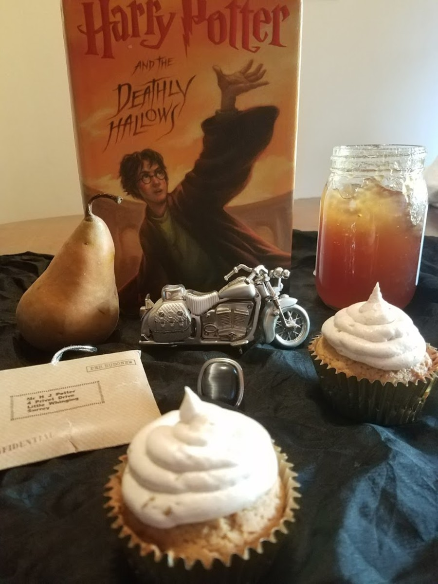 Harry Potter and the Deathly Hallows Book Discussion and Recipe