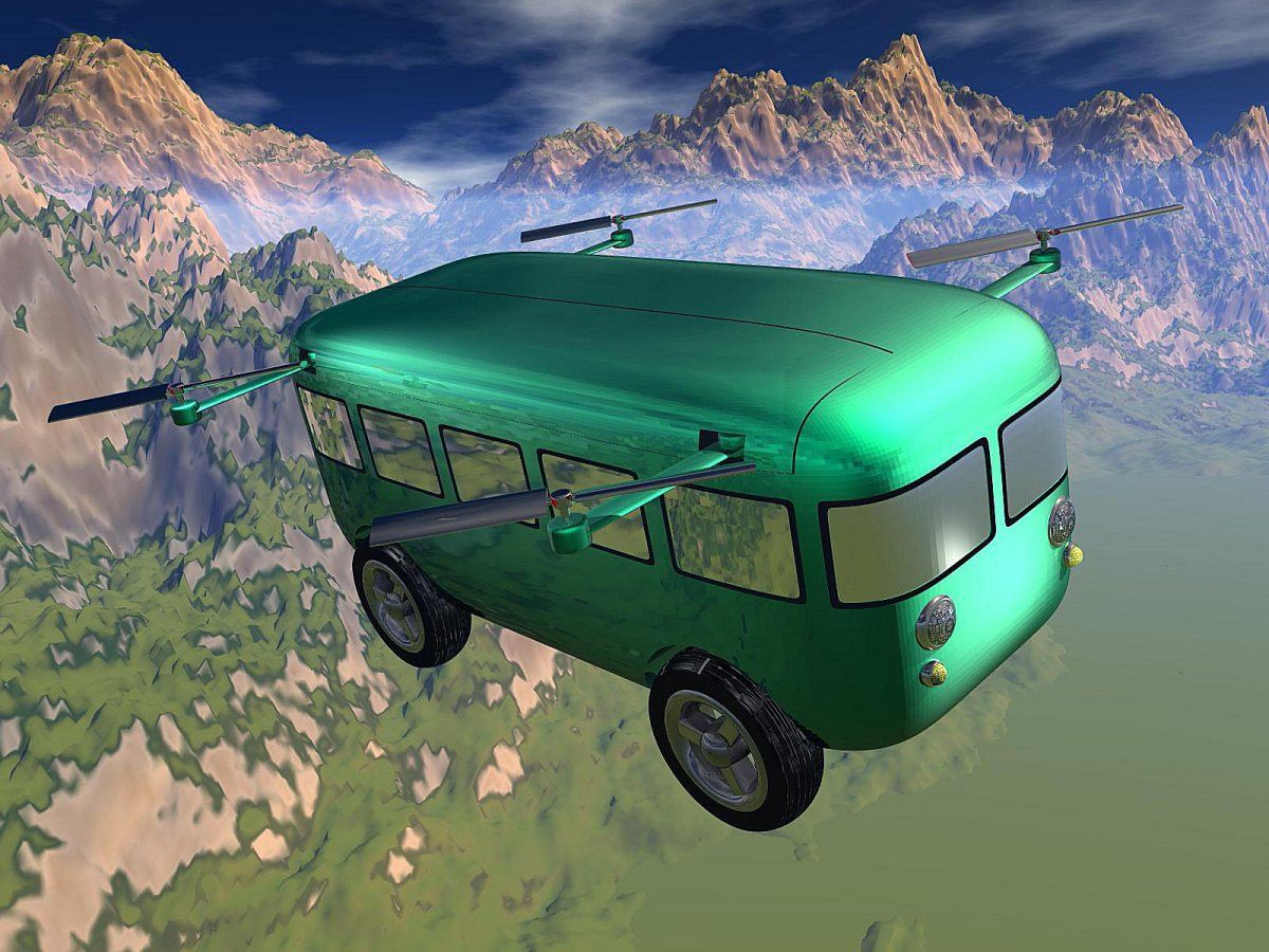 A Practical Flying Car
