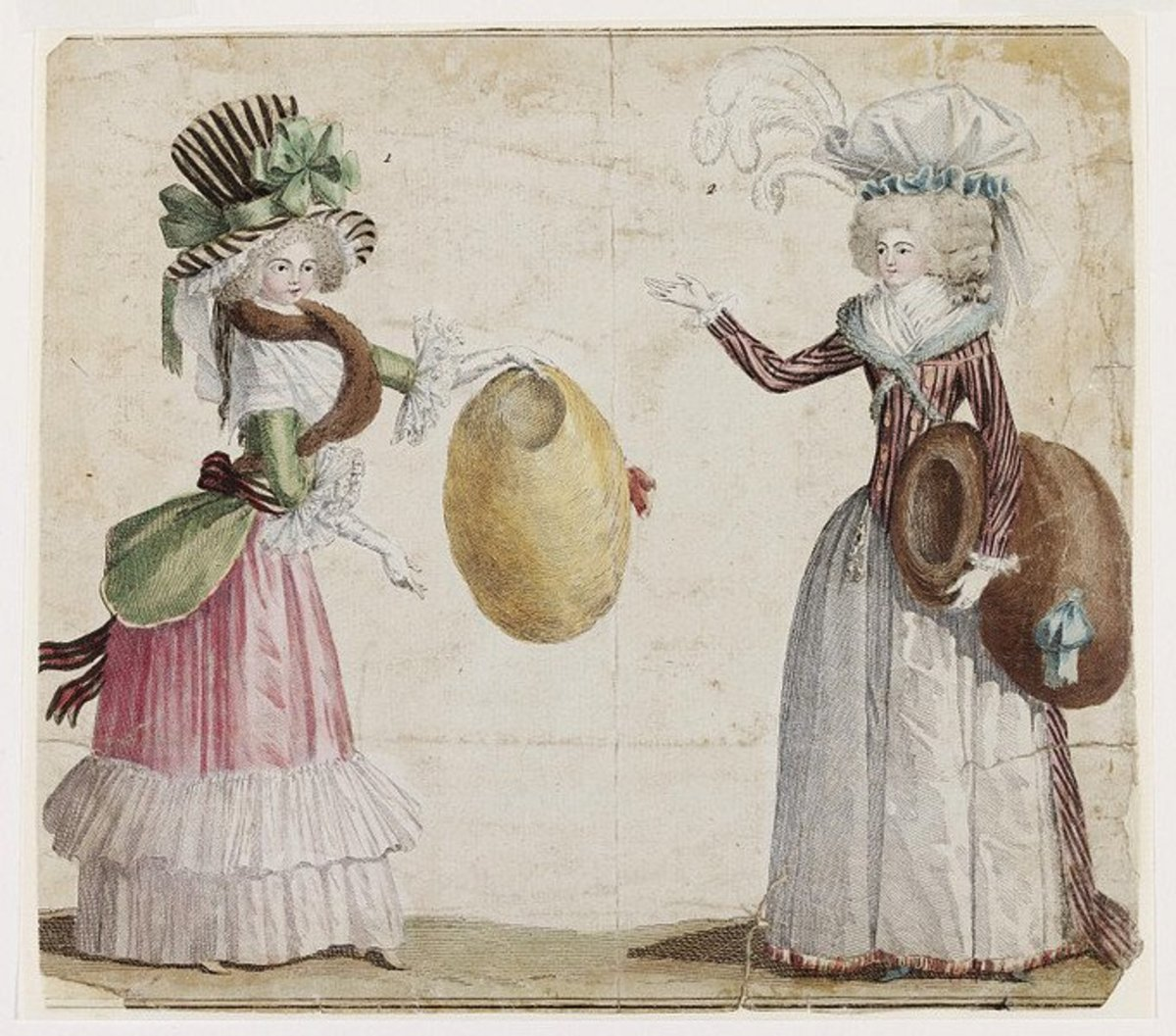 Women's Fashions of the 1700s