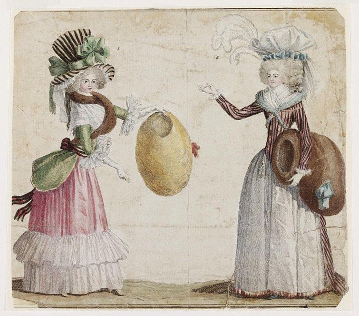 1787 fashion plate