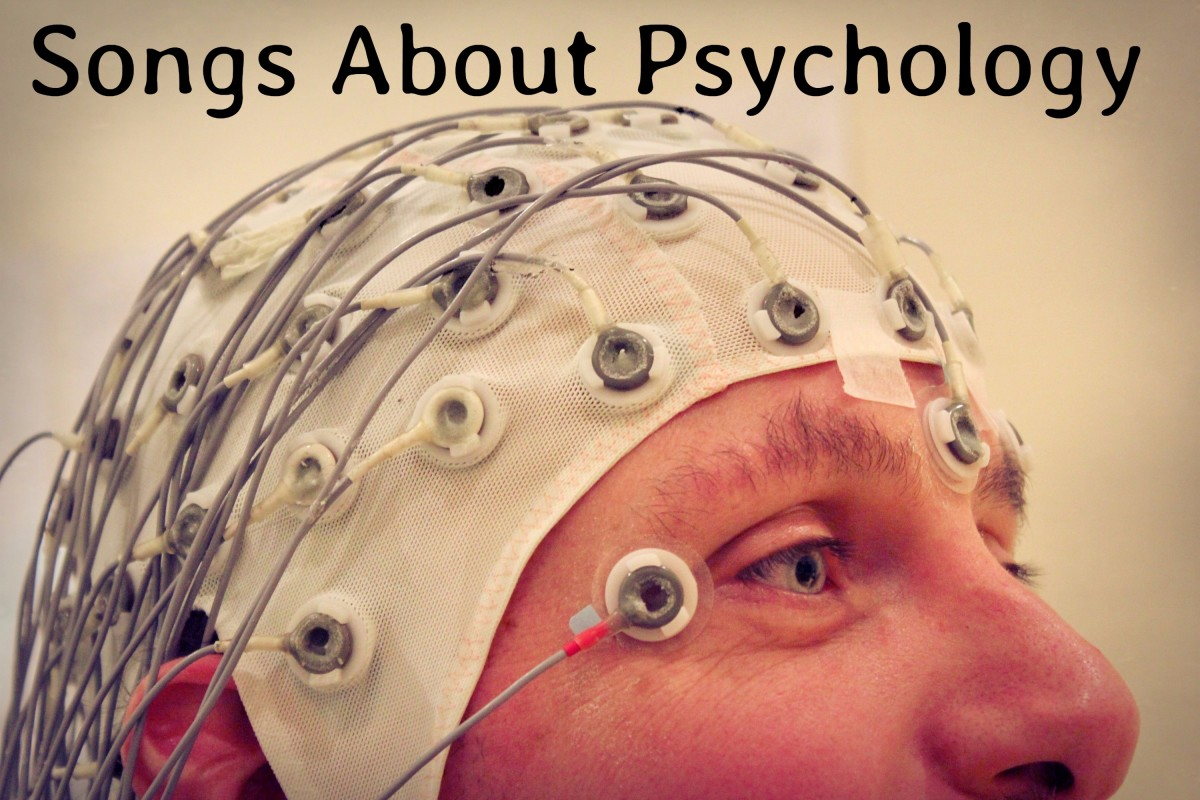If you are a psychologist like I am or simply love the field and study of psychology, then this playlist is for you.  Make a psychology playlist of songs about psychological concepts.
