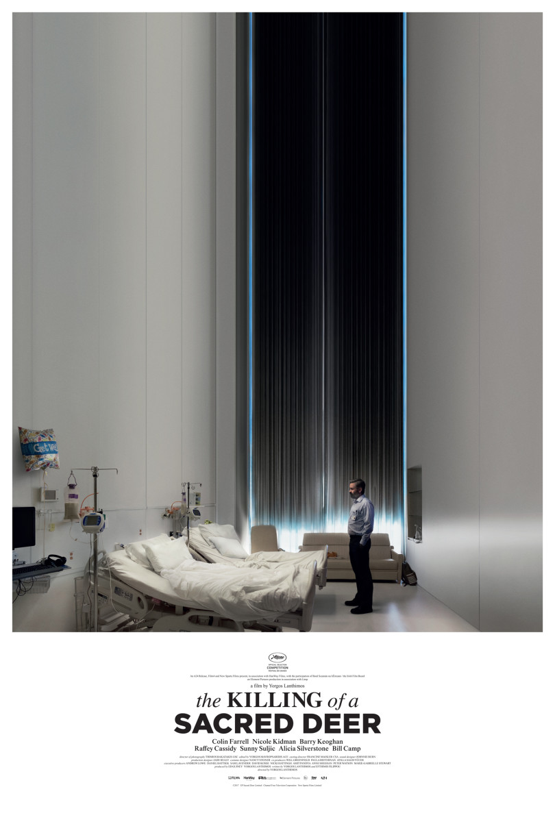 "The official one-sheet theatrical poster for ""The Killing of a Sacred Deer."""
