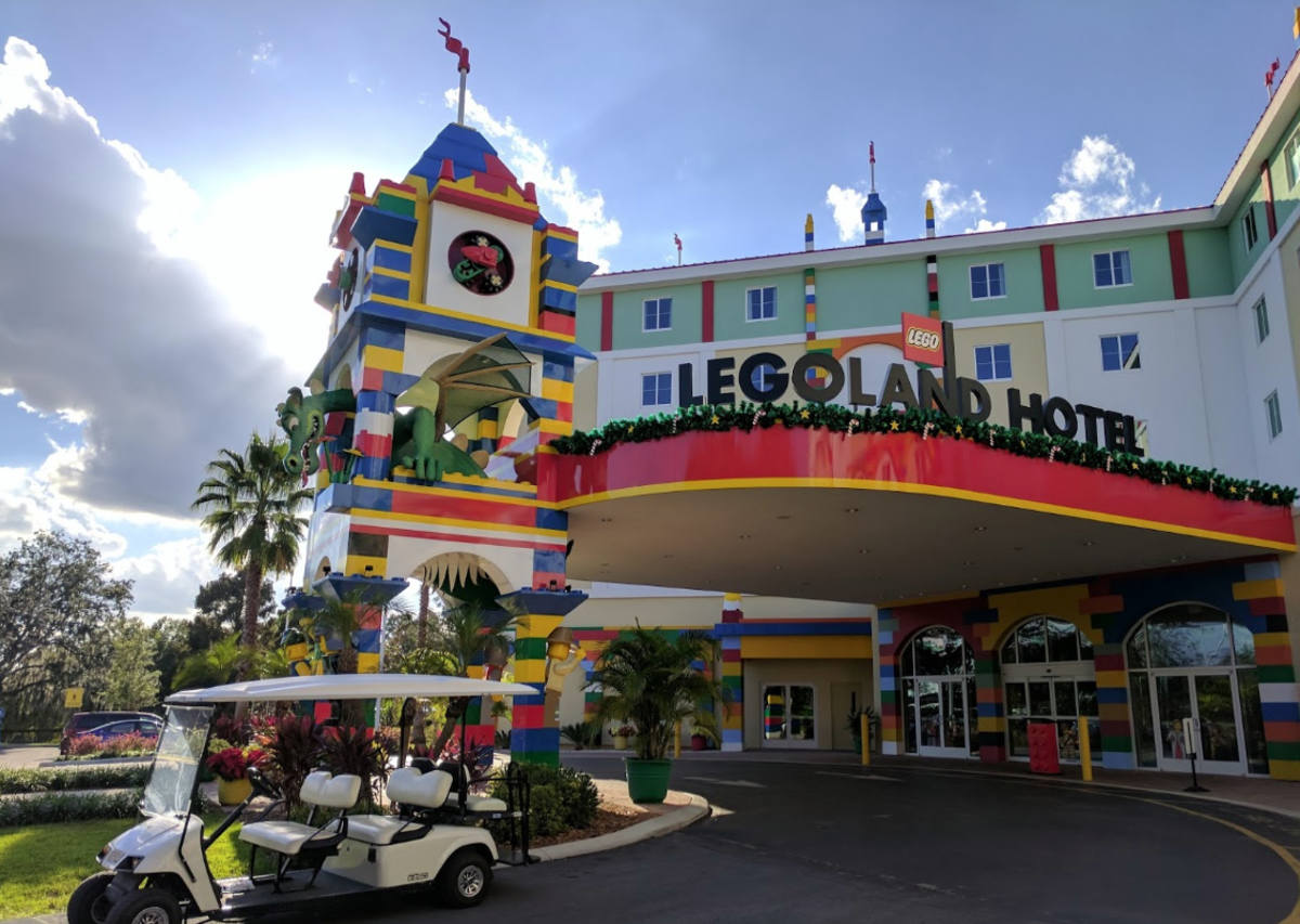 Welcome to the Legoland Hotel in Orlando, Florida
