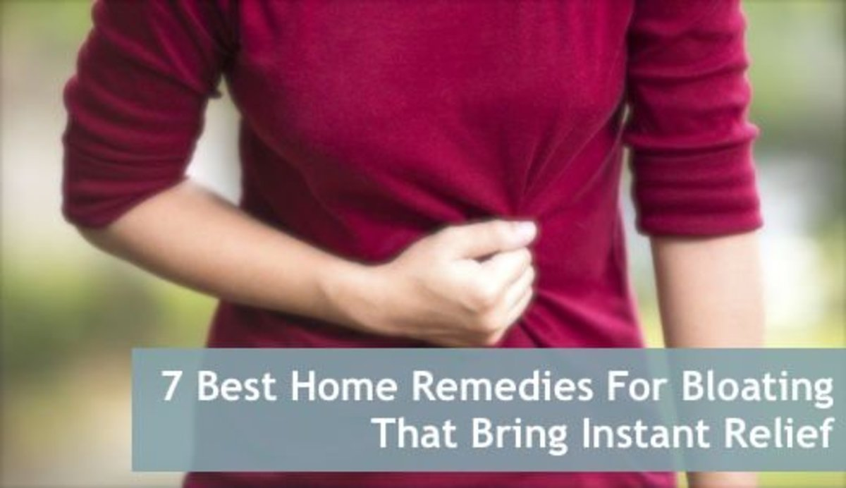 There are many home remedies for bloating that help ease the condition.