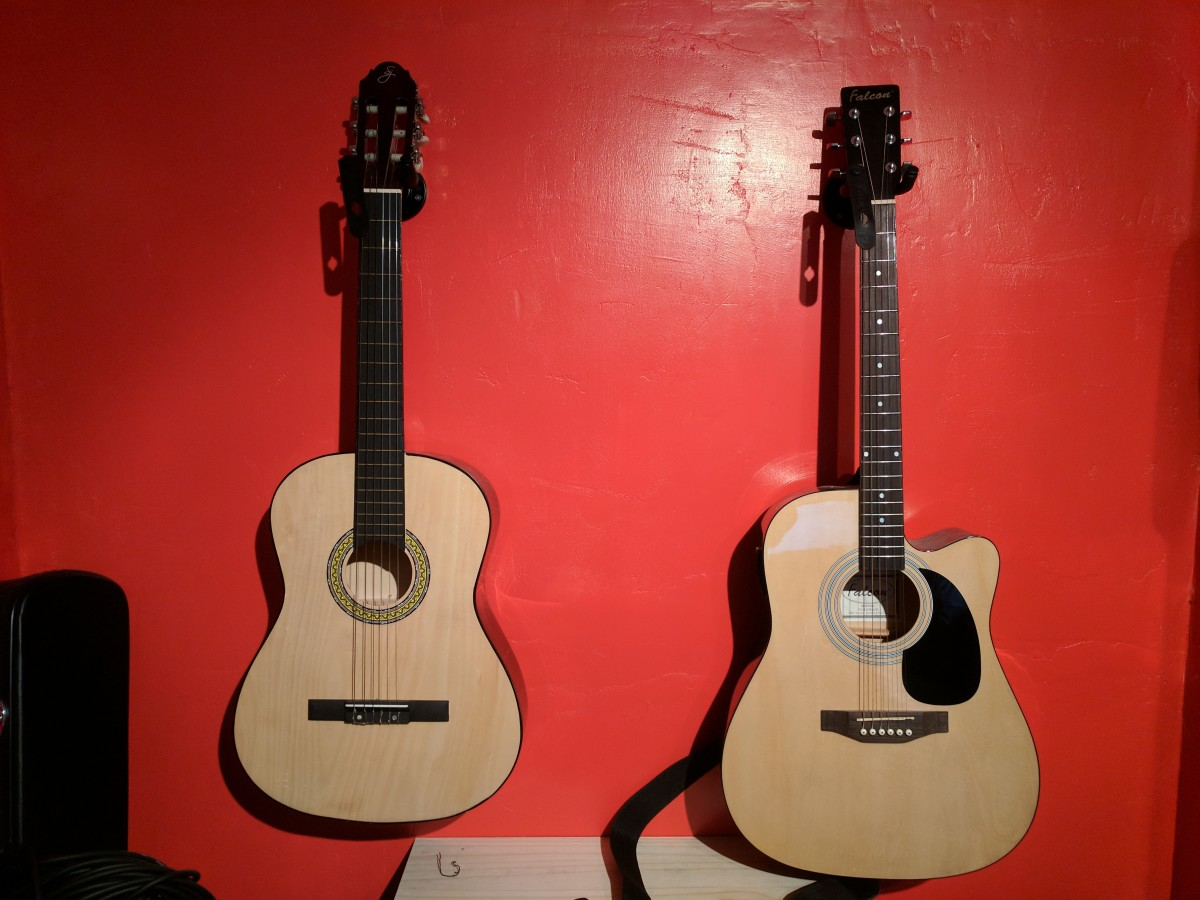 Nylon and steel stringed guitars have many differences that should be considered before buying...