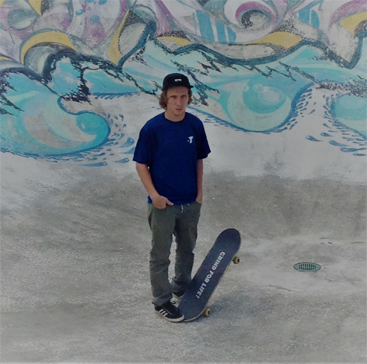 "Justin ""Jay"" Jablanski has been skating since he was 10."