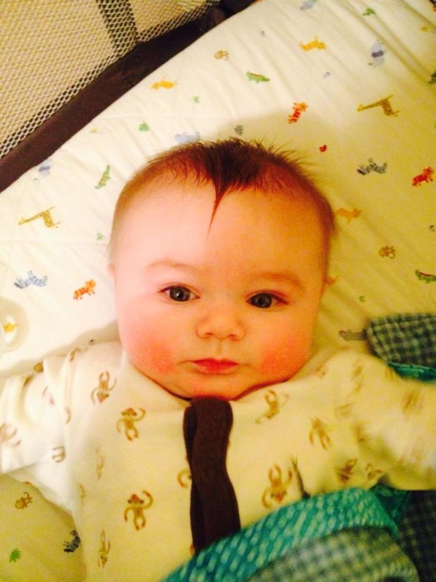 Our Son, Tristan.