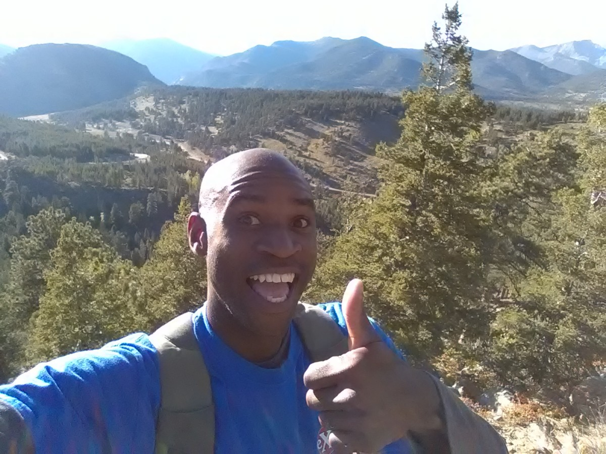 Hiking near Rocky Mountain National Park