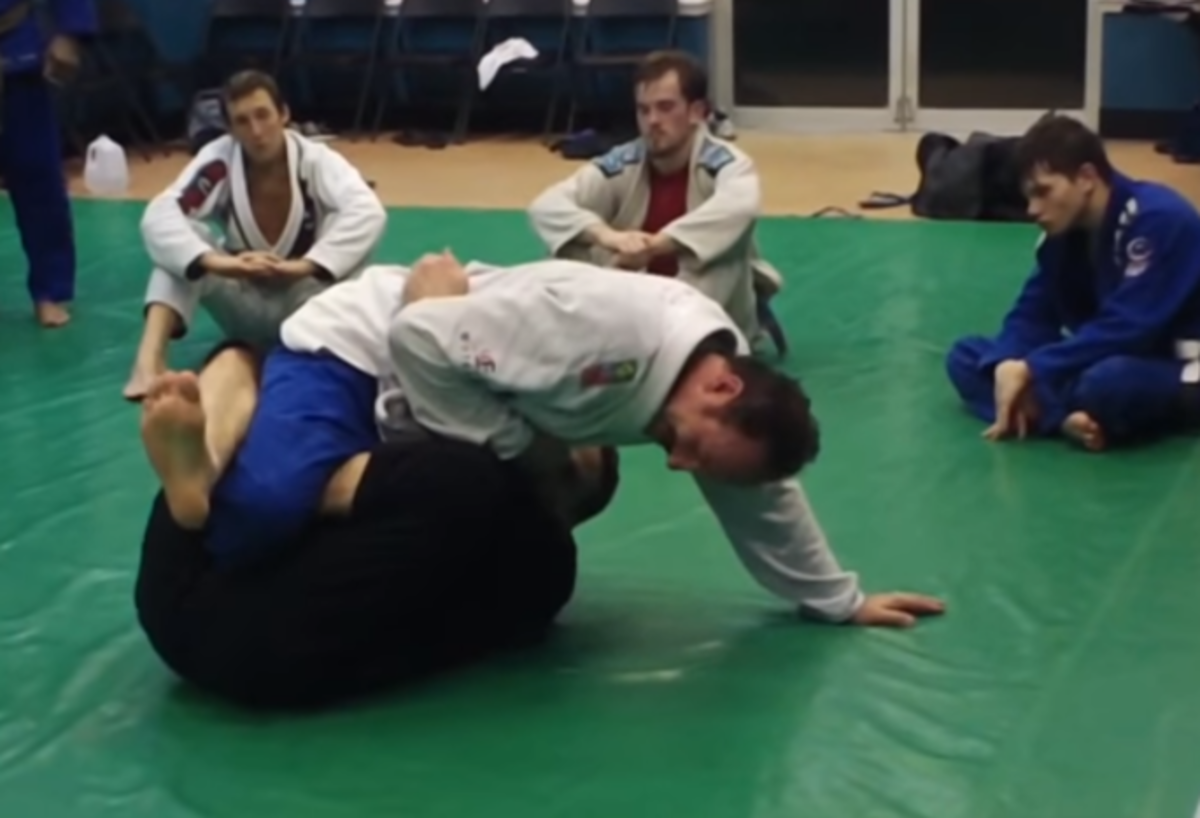 """Bear Trap"" Calf Slicer and Sweep Set Up for BJJ"