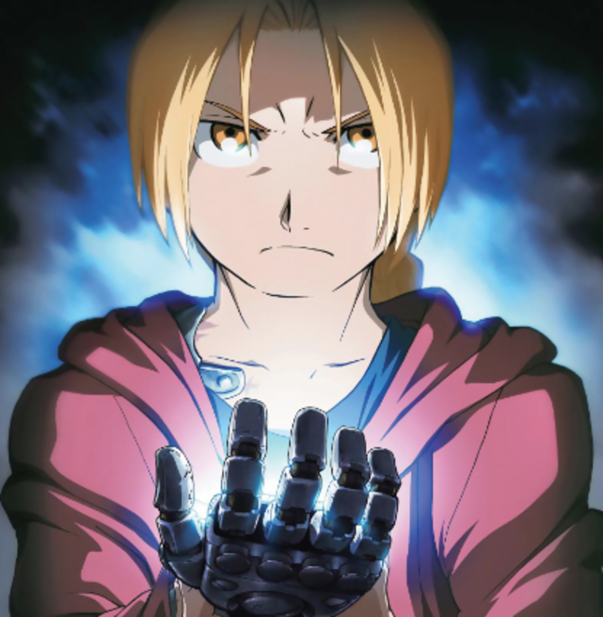 Edward Elric from 'Fullmetal Alchemist: Brotherhood.'