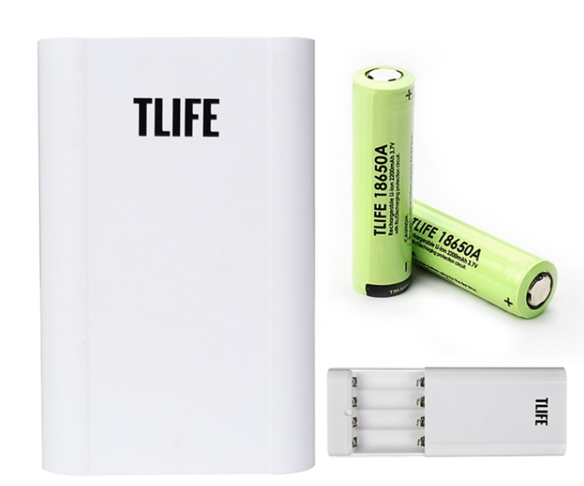 TLIFE 2200 mAh 18650 Charger Power Bank Review