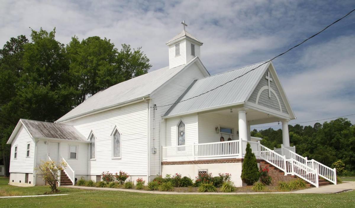 A small church in eastern NC