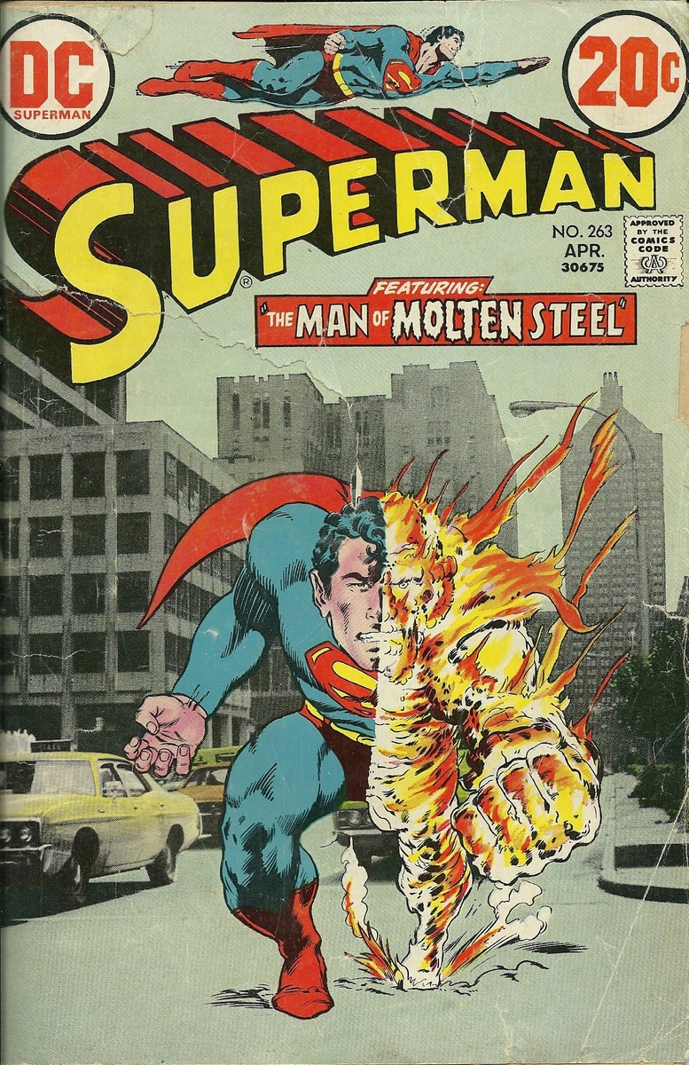 comic superman books comics age bronze covers neal adams steel cover molten birthday dc series comicbooks 1939 1st stories why