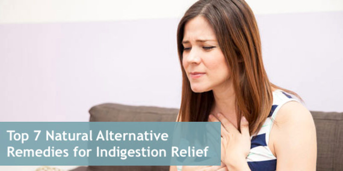 Indigestion is a symptom of another condition that causes pain in your upper abdomen.