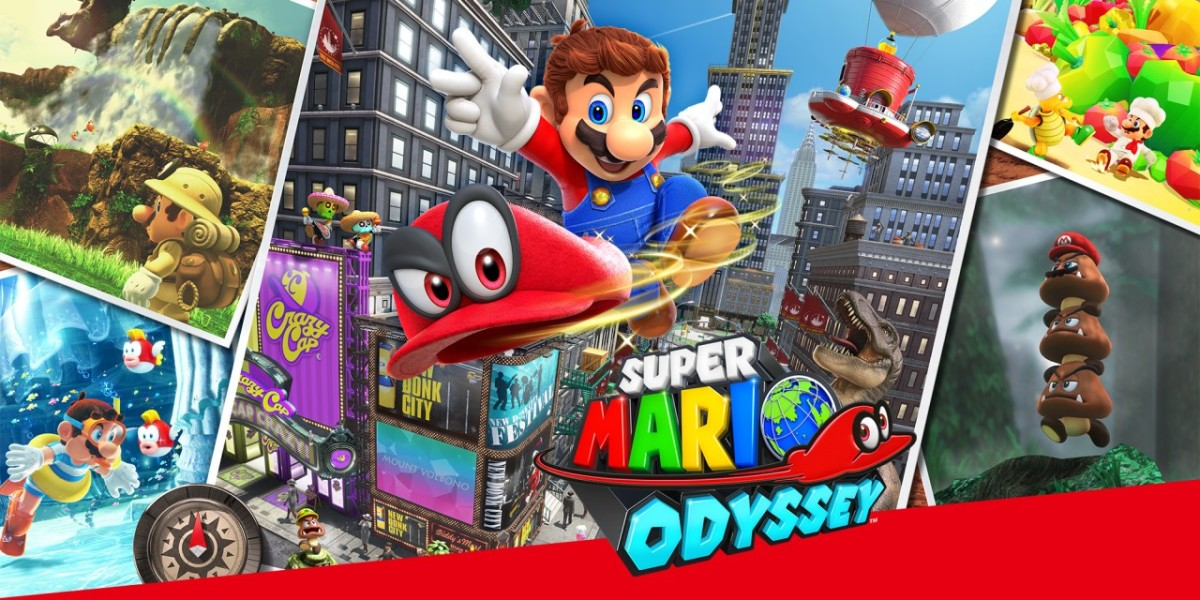 Super Mario Odyssey: Full Preview
