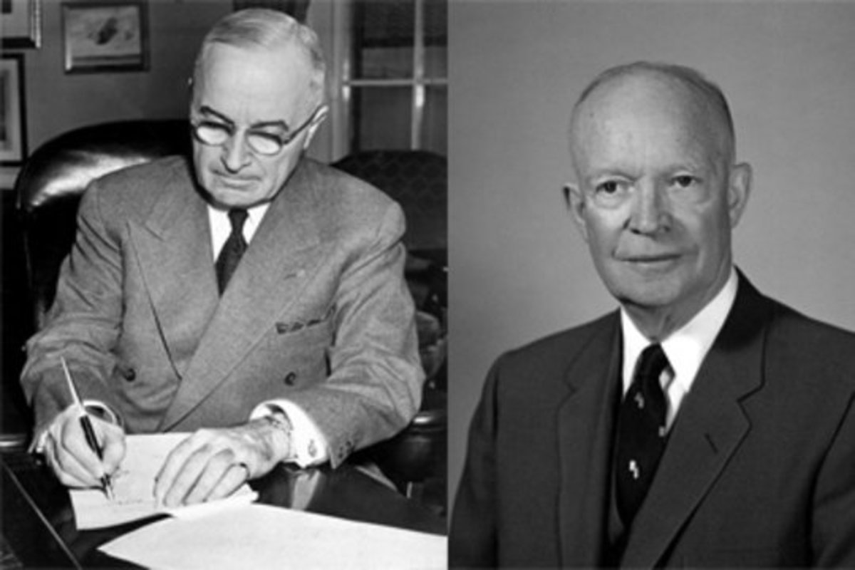 Under the presidencies of Eisenhower and Truman, the US in the early cold war managed to check the USSR, but it was a struggle which might never had had to take place.