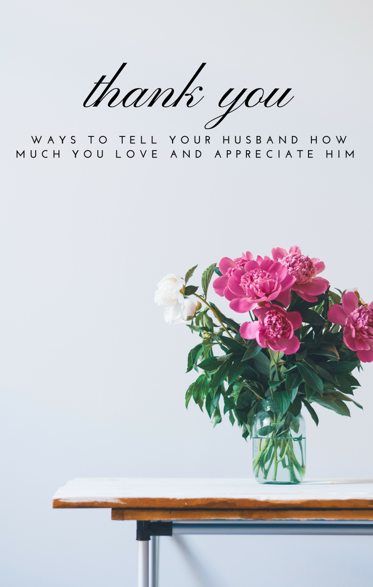 Thank you. Saying these two little words sincerely and often can bring joy to your marriage.