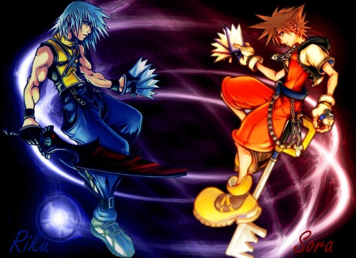 Is Sora From Kingdom Hearts Stronger Than Riku?