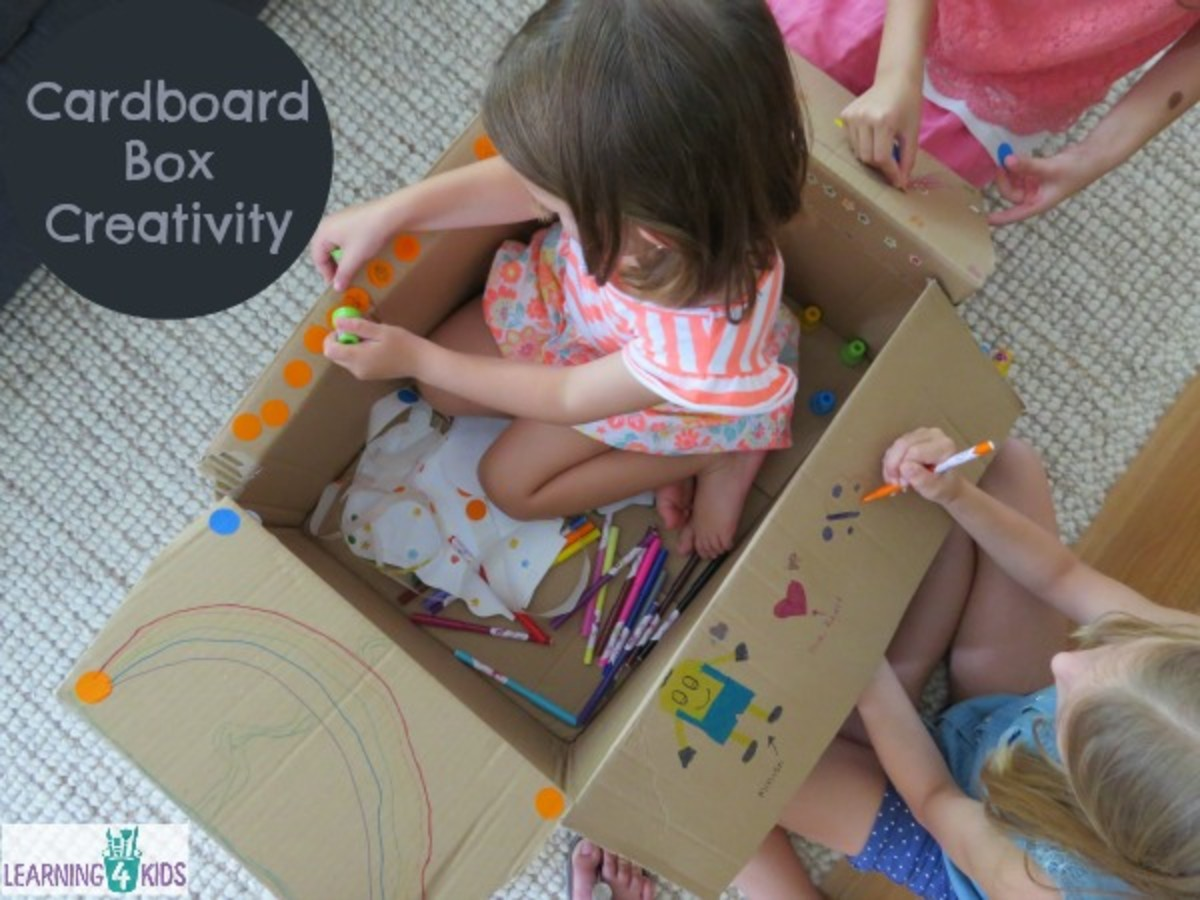 Holiday Fun Box Challenge: 10 Ways to Keep Kids Busy While You Cook