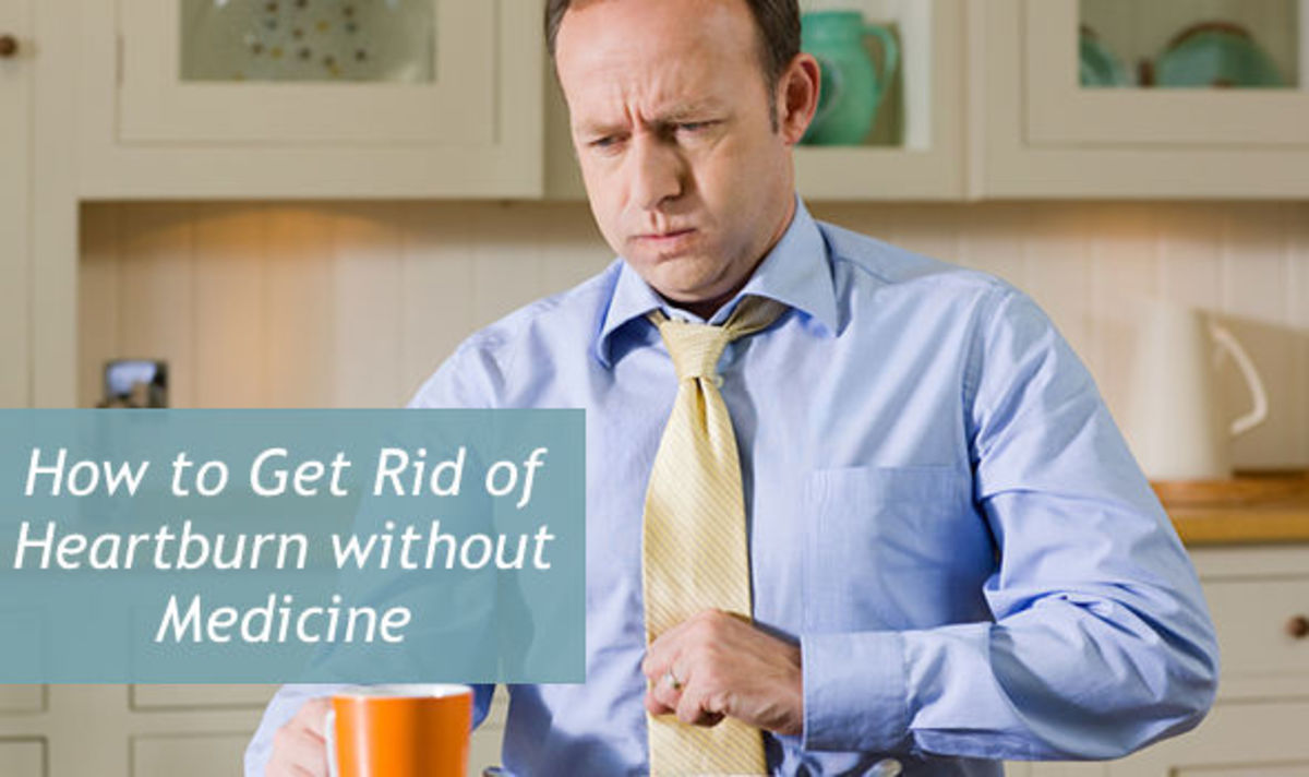 Heartburn describes a burning feeling in the chest caused by excess stomach acid.