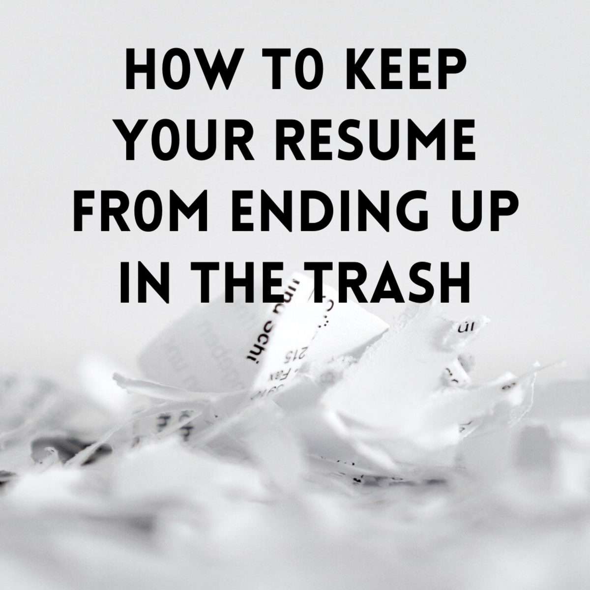 Most people are sending out generic resumes that fail to show their strengths. Such resumes are deleted or trashed almost immediately.
